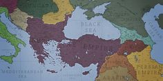 Ain't going to write long scenario here only can say that: Almost every country around Byzantium is puppet state or a minor ally Map of centu. Phoenix of the East - Byzantine Empire Old World Maps, Old Maps, Byzantine Empire Map, New Pope, Sassanid, Death Art, Fantasy Map, Alternate History, Ancient History