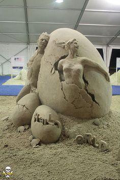 sand scupltures | Amazing Sand Sculptures | Abduzeedo Design Inspiration & Tutorials