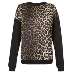 leopard sweatshirt Whats New, Primark, Sweatshirts, Blouse, Long Sleeve, Sleeves, Sweaters, Tops, Women