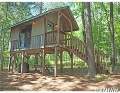 "Unique waterfront tree house cabin ""UP"" in Northwest Wisconsin. $79,900, MLS#: 878464"