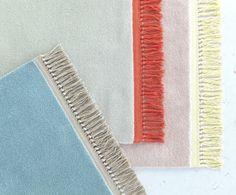 via Remodelista two colour Ikea rugs