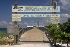Anna Maria Island Florida, City pier and oyster bar. loved going here Florida City, Visit Florida, Florida Beaches, Florida 2017, Florida Sunshine, Sarasota Florida, Sunshine State, Vacation Places, Vacation Spots