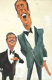 Rowan & Martin's Laugh-In - An American sketch comedy television program which ran from 1968-73. It was hosted by comedians Dan Rowan and Dick Martin. Hilarious!