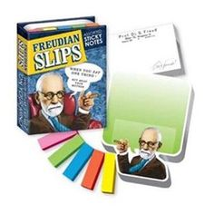 Blocos de Notas Freudian Slips Sticky Notes