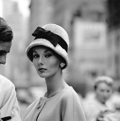 Trendy Photography Black And White Vintage Hats Ideas Vintage Glamour, Style Vintage, Vintage Beauty, Vintage Fashion, Vintage Models, Vintage Vogue, Look Fashion, Fashion Models, Fashion Mag