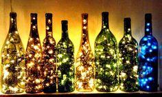 Best Pinterest Pics: Light Bottles!