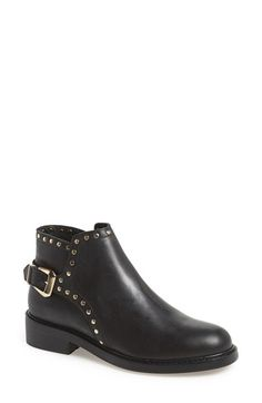 Topshop 'Actor' Leather Ankle Boot (Women) | Nordstrom