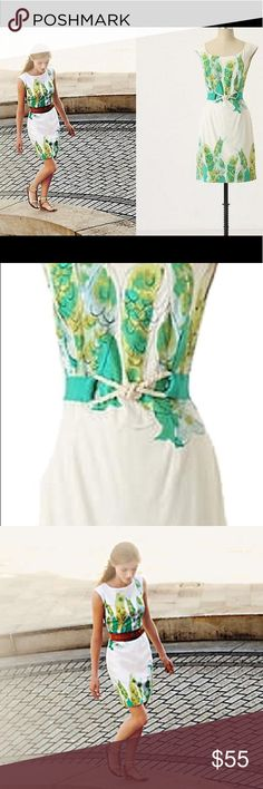 6e699460e6203 Anthropologie We Love Vera Sketched Danios dress Gorgeous dress in  excellent condition. Size 2.