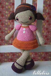 lilleliis.blogspot.com: Uus amigurumi õpetus - Nukk Sofia
