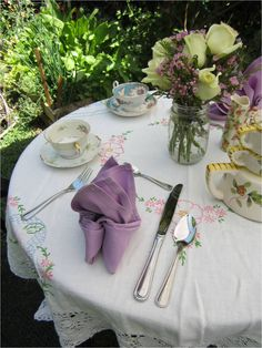 Because of Madalene: Beth's Annual Tea Party