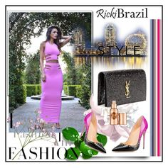 """Ricki Brazil"" by lip-balm ❤ liked on Polyvore featuring Yves Saint Laurent, Hoola and rickibrazil"