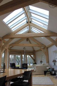 Interior showing roof lighting