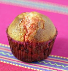 Photo de la recette : Muffins aux pralines roses