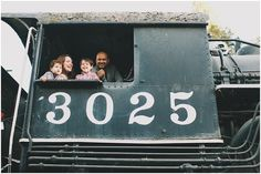 train themed family photos