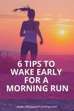 6 tips to wake early for a morning run (and the benefits) | The benefits of being a morning runner | Morning run: Why you should run in the morning | Become a morning runner with these tips | dawn sunrise running | wake up #running #dawnrunner #sunrise #d Running For Beginners, Running Tips, Running Training Programs, Running Songs, Benefits Of Running, Running Plan, Race Training, How To Start Running, Pace Running
