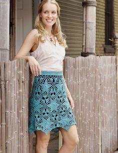 Galaxy Skirt.  Crochet skirt.  Convertible Crochet.  Doris Chan.  Kindle.  5 ply 268m/ 100g x 3.