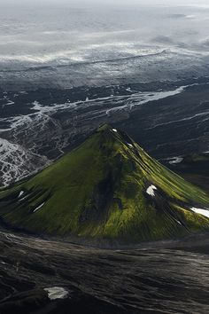 Mælifell, Iceland, by  Antony Spencer -  Tumblr