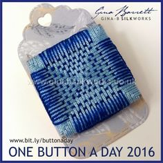 Day 239: Seat #onebuttonaday by Gina Barrett