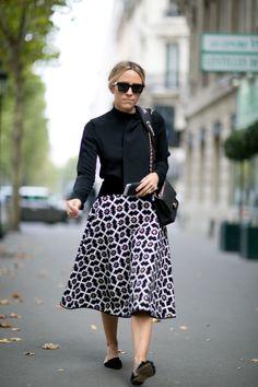 street style - Paris Fashion Week - winter 2016