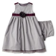 Wendy Bellissimo™ Sleeveless Faux Wool Houndstooth Dress – Girls 6m-24m  found at @JCPenney