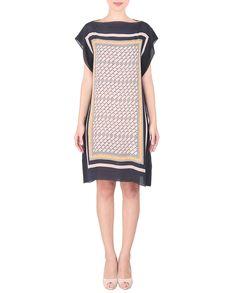 Multicoloured Printed Short Dress