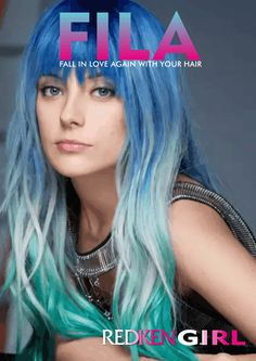 Redken Girl E Magazine - Beautiful Hair Styles - Fabulous Colour Trends and everything Redken. Learn how to create Fabulous Hair Styles at home. A must see for all Redken Girls Redken Hair Color, Redken Hair Products, Hot Hair Colors, Hair Magazine, About Hair, Pink Hair, Pretty Hairstyles, Color Trends, Hair Trends