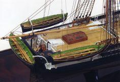"Ship model ""USS Washington"" 1837 revenue cutter  From http://www.shipmodel.com/"