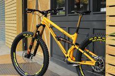 First look: Production Privee Shan No 5 Bahama Yellow special edition - Dirt Downhill Bike, Mtb Bike, Cycling Bikes, Bmx Bicycle, Taipei, Full Suspension Mountain Bike, Push Bikes, Bike Brands, Touring Bike