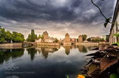 Puentes cubiertos de Estrasburgo by picaracitanegra