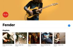 Fender partners with Apple for Apple Music curated playlists featuring its guitars