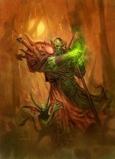 Go to http://wanelo.com/p/5327946/warcraft-blueprint for WOW secrets - Orc Warlock - World of WarCraft