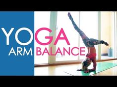 Yoga Arm Balance, Easy Pinchamayurasana Practice with Kino - YouTube