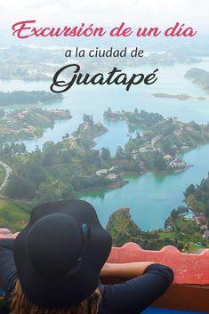 Excursión de un día a Guatapé desde Medellín, Colombia : Excursión de un día a Guatapé desde Medellín, Colombia Travel Destinations, Travel Tips, Colombia Travel, South America, Latin America, Cool Places To Visit, Grand Canyon, The Good Place, Around The Worlds