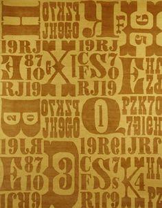 letterpress from decorative carpets