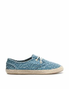 Bershka United Arab Emirates - BSK jute fabric sneakers
