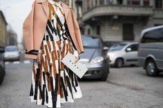 Street style from Milan fashion week autumn/winter '15/'16