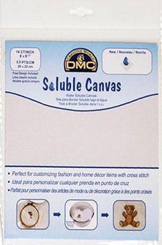 Soluble Canvas - Wasserlöslicher Stramin