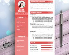 Manager Resume CV Template for Word Financial clerks Simple Resume Template, Creative Resume Templates, Cv Template, Project Manager Resume, Job Resume, Job Cover Letter, Cover Letter Template, Accountant Resume