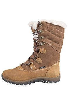 Mountain Warehouse Vostock Womens Snow Boots *** For more information, visit now at Backpacking Boots board