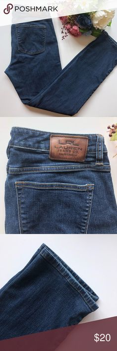 Ralph Lauren Jeans Straight Leg Size 10 Size: 10 Brand: Lauren Ralph Lauren Materials:  92% cotton 7% polyester  1% elastane  Perfect for all seasons  Excellent used condition  💕💕Make me an offer💕💕 🌸Ask questions🌸  Date: July 19 Box: #4 Lauren Ralph Lauren Jeans Straight Leg
