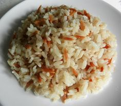 Classic Rice Pilaf with Orzo