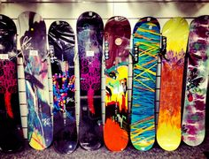 Women's Snowboards by K2, Burton, and Marhar