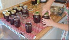 Old-Fashioned Blackberry Jam Blackberry Mojito Recipes, Blackberry Dessert, Ball Canning Recipe, Canning Recipes, Huckleberry Jam, Easy Jam Recipe, Canned Strawberries, Freezer Jam Recipes, Canning Food Preservation