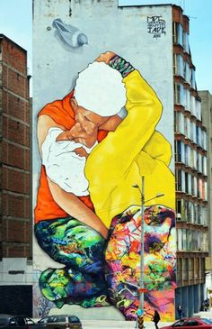 Jade x Vertigo Graffiti x MDCREW New Mural In Bogota, Colombia