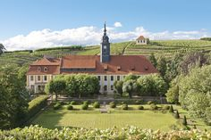 Schloss Seußlitz bei Meißen in Sachsen (Reichsgrafen von Bünau)
