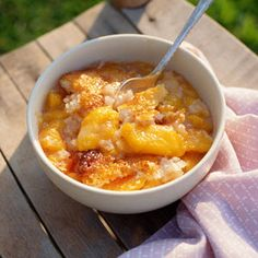 Easy Peach Cobbler | MyRecipes.com