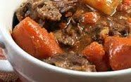 Once A Week Vegan: Beef Stew You Won't Believe Is Vegan.. I sometimes omit the potatoes and sub mushrooms and then spread mash potatoes half way through baking time and make an amazing vegan shepherds pie!