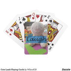 Cute Lamb Playing Cards