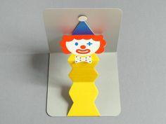 Pop-up Clown Card