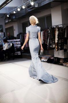 Oscar de la Renta, Fall 2012. Gorgeous tailoring...